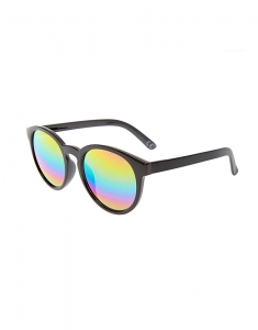 Claire's Black Mirrored Cat Eye Sunglasses 80780