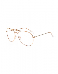 Claire's Rose Gold Metal Aviator Glasses 2215
