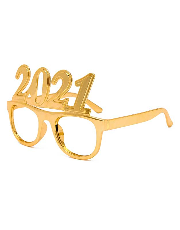 Claire`s Gold 2021 New Years Eve Frames 91527